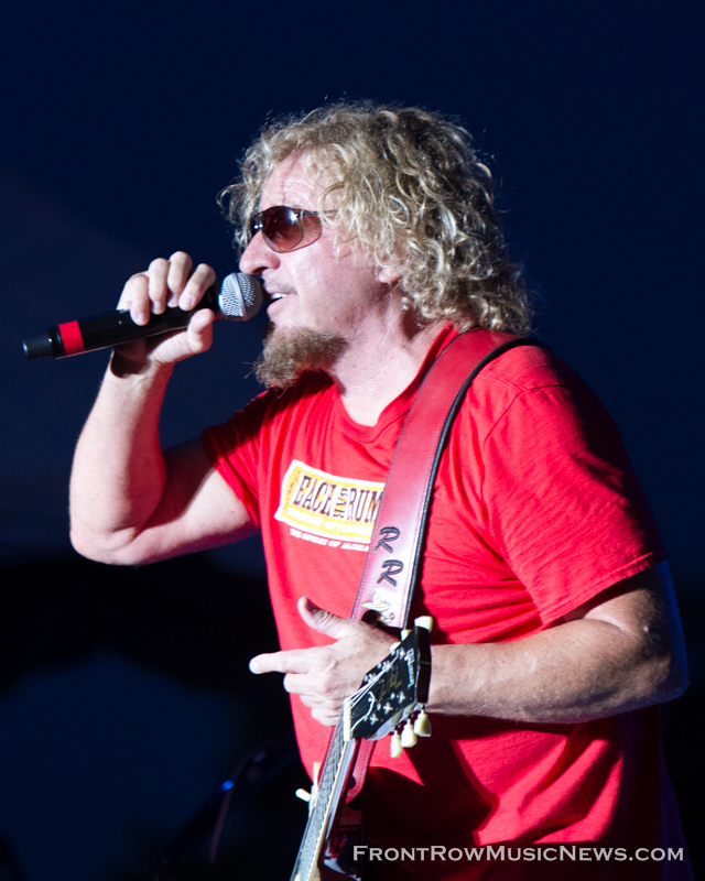 Sammy Hagar Rocks Taste of Joliet 2014 - 084