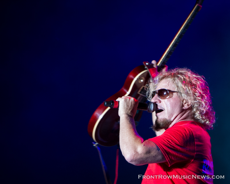Sammy Hagar Taste of Joliet 2014 - 136