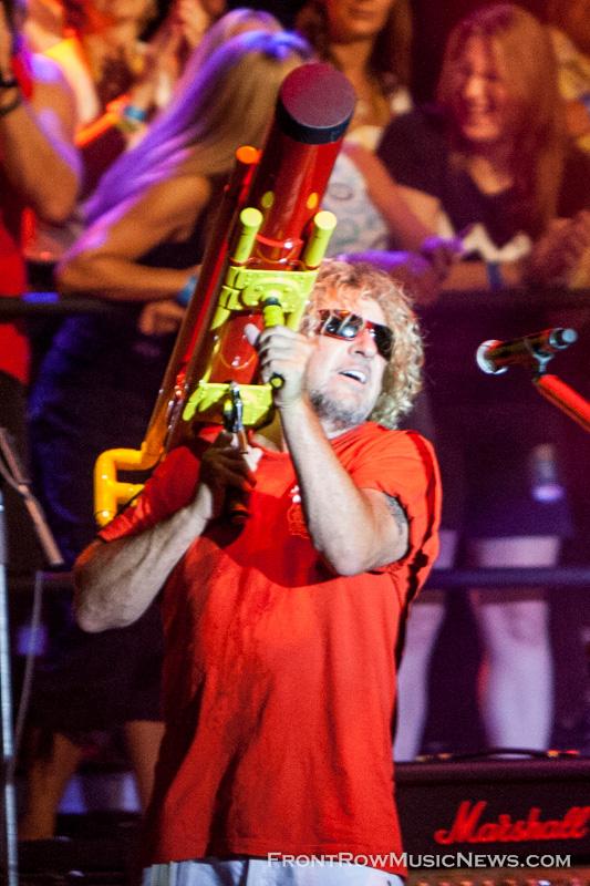 Sammy Hagar Ribfest 2010 - 4551