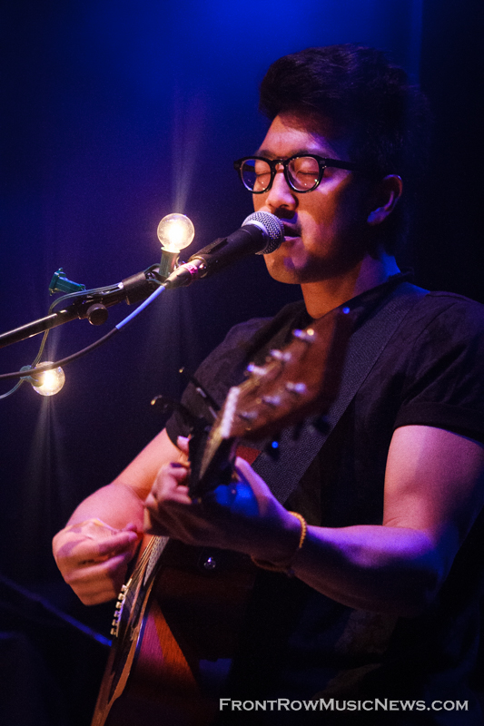 On April 18, 2014, Hunter Hunted peformed at Riviera Theater in Chicago, IL