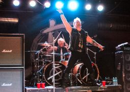 Chris Jericho and Frank Fontsere of Fozzy