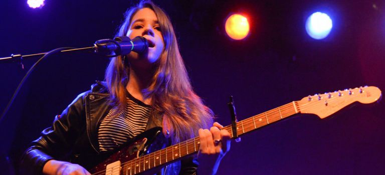 "Lady Lamb ""builds this city up"" at Schubas"