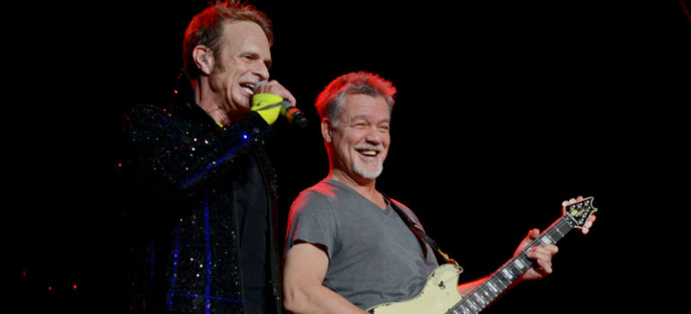 Van Halen Light Up Indianapolis