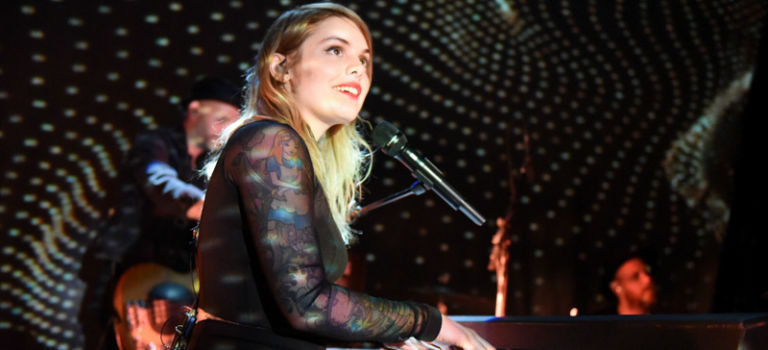 Coeur de Pirate pirouettes and performs pristinely at Lincoln Hall