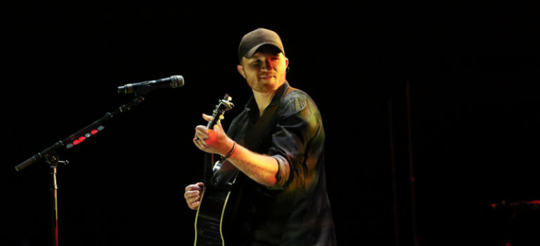 Eric Paslay at U.S. Cellular Coliseum in Bloomington