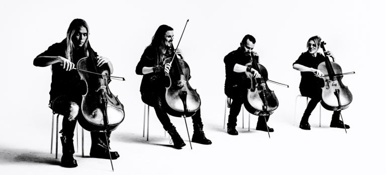 APOCALYPTICA does METALLICA – metal cellos in Chicago