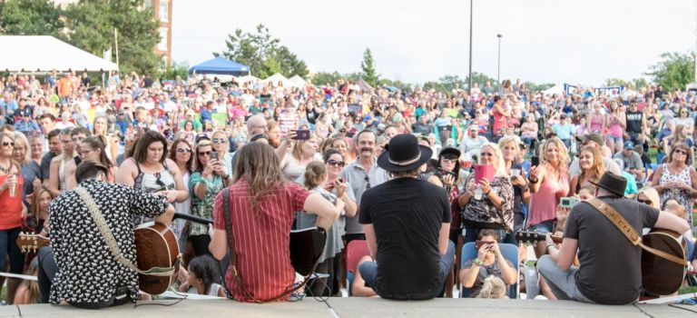 97.5 Y-Country Summer Jam 2017 with A Thousand Horses in St. Joseph MI