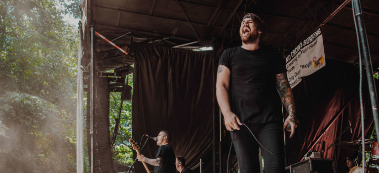 Beartooth at Merriweather Post Pavilion in Columbia, MD