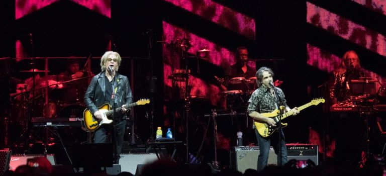 Hall and Oates at United Center in Chicago