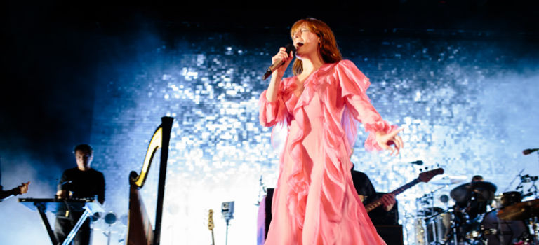 Florence and the Machine at Hollywood Casino Amphitheater in Chicago / Tinley Park