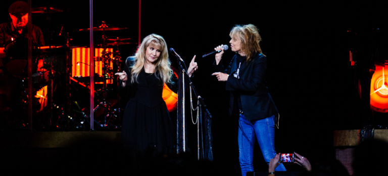 Stevie Nicks and The Pretenders at the United Center in Chicago